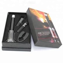Hot Selling Wine Set in Amazon Wine <strong>Bottle</strong> <strong>Opener</strong> Set Air Pump Wine <strong>Opener</strong> with Foil Cutter Set