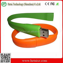 Promotional Gifts silicon Bracelet USB Flash Drive / Memory thumb Drive