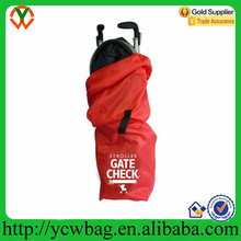 Customize high quality nylon stroller travel storage Gate Check bag
