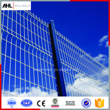 Square Boundary Wall Net in 6 Guage Iron Fencing PVC for Backyard Powder Coated Panels Security Welded Steel Wire Mesh Fence
