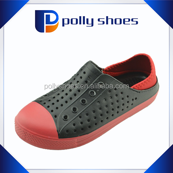 cheap custom eva boy plastic footwear 2017 China