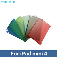 Hard Back Protective Case Cover For iPad Mini 4 Multiple Color Transparent PC case