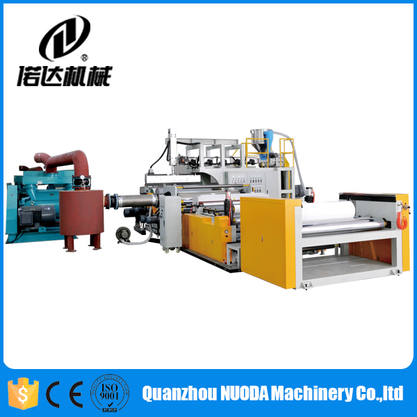 Nuoda PE Cast Stretch Film Line Polyethylene PE Perforated Film Production Line