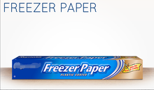 Freezer Paper Aluminum foil rolls for freeze wraps 75 sqft foil roll
