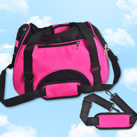 Hot Sale Pet Carrier Soft Sided Small/Large Cat Dog Comfort Bag Travel Approved Handbag