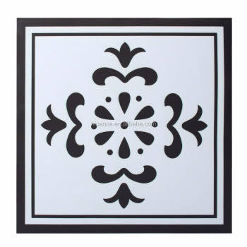 Creative Tile Style Protection and Home Decor PVC Floor Tile