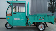 enclosed cabin petrol moped cargo tricycles