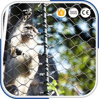 Beautiful Anticorrosion Zoo x-Tend Mesh Rope Cable Mesh Fence