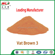 Vat dye Brown RN/Vat Brown 3/special clothing dyestuff