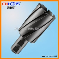 T.C.T. annular hole cutter with J type shank