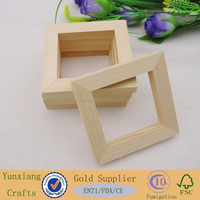 half-finished wood picture frames wholesale