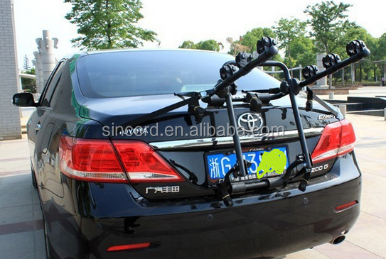 bike rack for car bicycle carrier/Rear bike rack for 3 bicyle