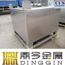 UN31AY stainless steel 1000-liter container