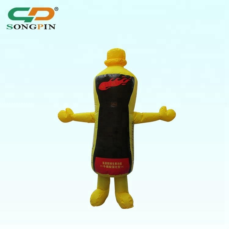 2018 Outdoor activities decorative Drink Cartoon Custom made promotion Inflatable model