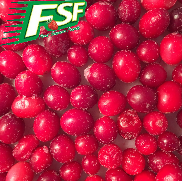 2018 Best prices newest iqf fruits frozen cranberries