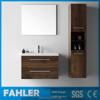 Wall Mounted Osk Wood Cheap Hotel Bathroom Vanity Cabinet