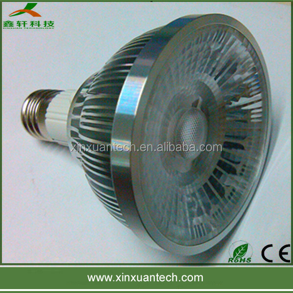 Spotlights G53 GU10 Epistar cob par light 7w led par30 bulb Ra>70 with 2 years warranty