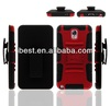 Hot sell combo holster case for samsung, for samsung note3 with standing function for cell phone accessories