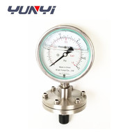All stainless steel diaphragm pressure gauge