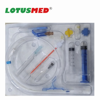 Disposable Quad Lumen Central Venous Catheter (cvc Catheter)