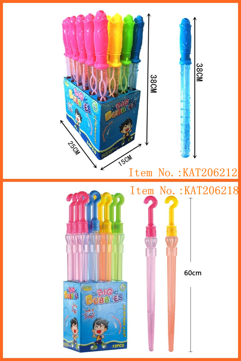 Hign Quality 38cm Soap Bubble Water Stick Toys For Kids