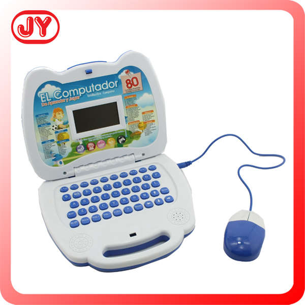 English learning machine laptop toys with music