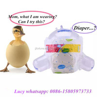 Colored disposable baby diapers/Factory Baby Diaper Wholesale price/Sleepy baby diaper with perfect quality low price