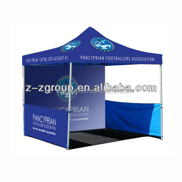 portable advertising customized aluminium frame tent in trade show tent