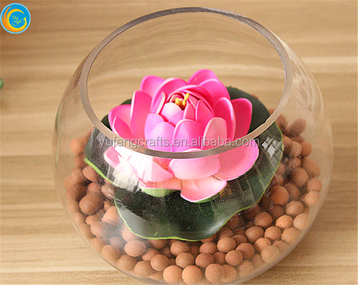 Round fish bowl wholesale glass fish bowl buy cheap for Fish bowls in bulk