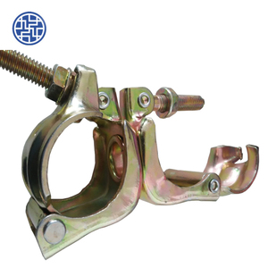 Electro galvanized press fitting for scaffolding