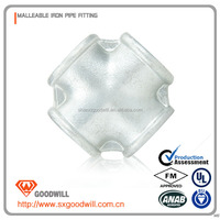 pragmatic PVC Cross joint pipe fitting