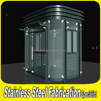 Outdoor Steady Stainless Steel Security Guard House Design