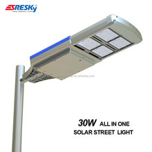 30w High Power Solar Smd Led Street Light Casing Manufacture