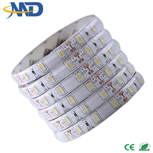 60led AC220V 5630 smd led strip Aluminum PCB 100m/roll waterproof Led Flexible Strip Light 2years warranty