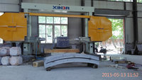 Numerical control Mono Wire saw machine for granite and marble cutting