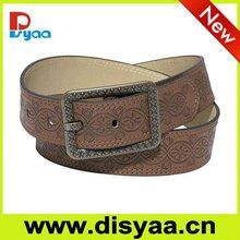Hot!!! Metal Alloy Buckle lady Chastity Belt PU belt ladies chain metal belts