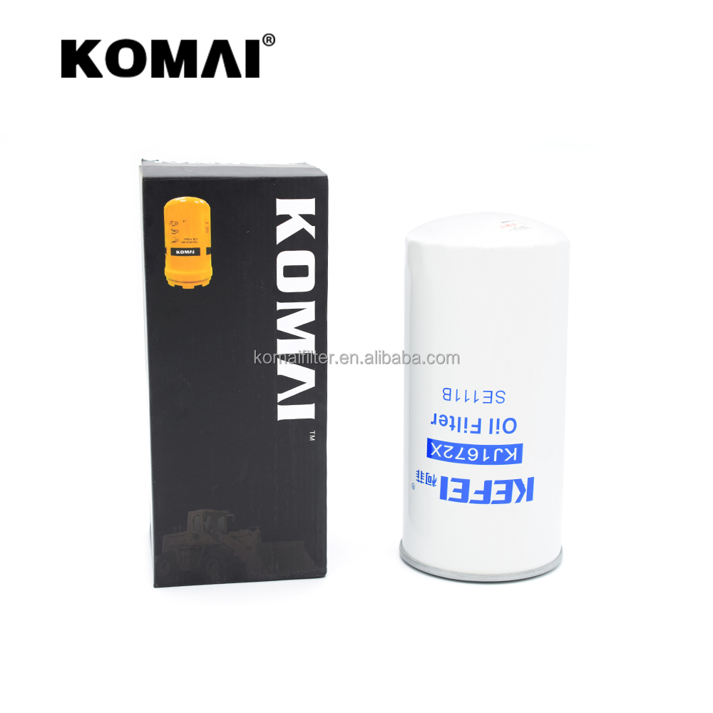 Hot sale oil filter 4324909 for perkins engine cross reference P551272 P551604 0451301156