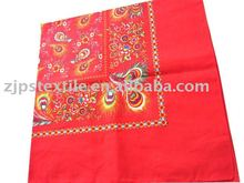 22 inch standard 100% cotton large bandana