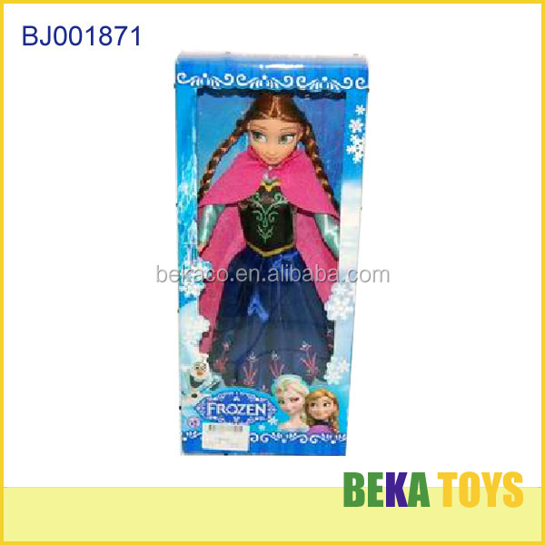 Baby toy cheap girls toy barbiee doll princess pretty 11.5 inch costume frozen doll