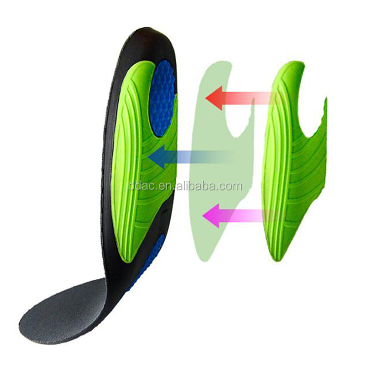 Athletic Insoles with Shock Absorbance or Ultimate Protection
