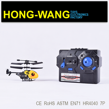 Long fly time 2ch r/c helicopter with light / durable king heavy duty rc helicopter aircraft