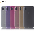 New product 0.6 mm PP case for iPhone X , back cover case mobile accessories