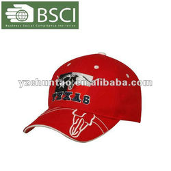 Led advertising cap optic fiber embroidery baseball cap