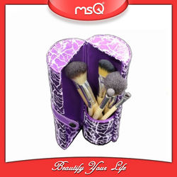 MSQ 8pcs Travel Makeup Brush Case