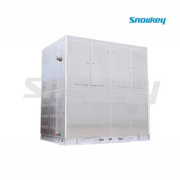 20T plate ice machine+20T ice storage