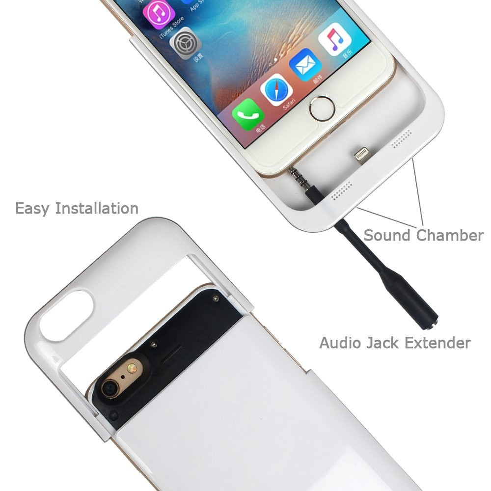 Capacity External Battery Replacement Back Cover Case for iPhone 6 plus, for iPhone 6 plus Battery Cover Case