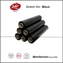 (Elfer) Black PE stretch film stretch manual negro