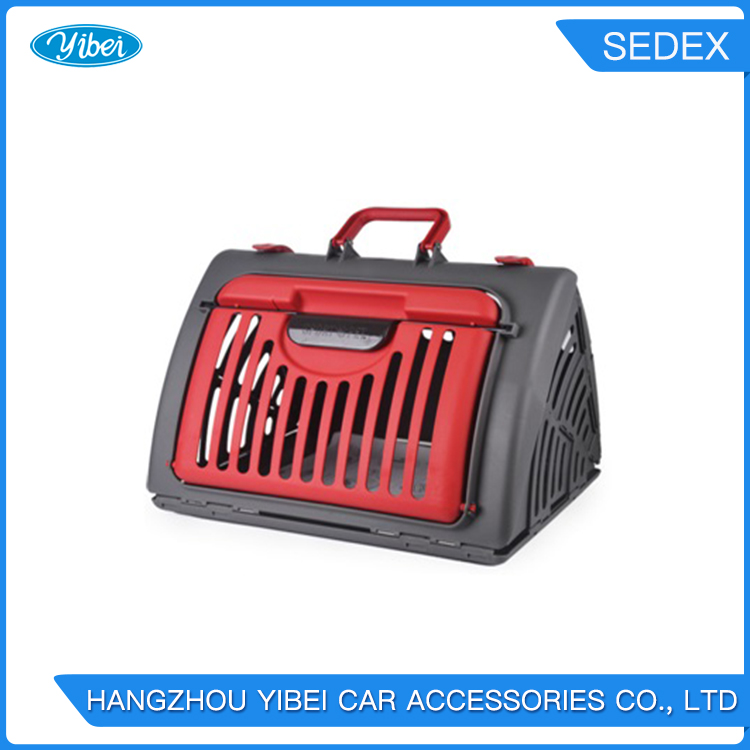 The Travel Pet Carrier, Cat Cage Can Folds Quckly and Store Anywhere Travels Foldable Dog Travel Crate