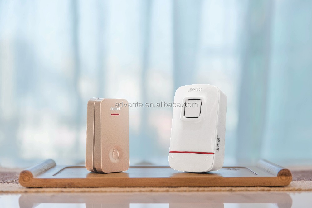 Waterproof IP47 long service life self-power no battery wireless doorbell