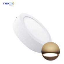 Factory high lumen round light small led panel with low price